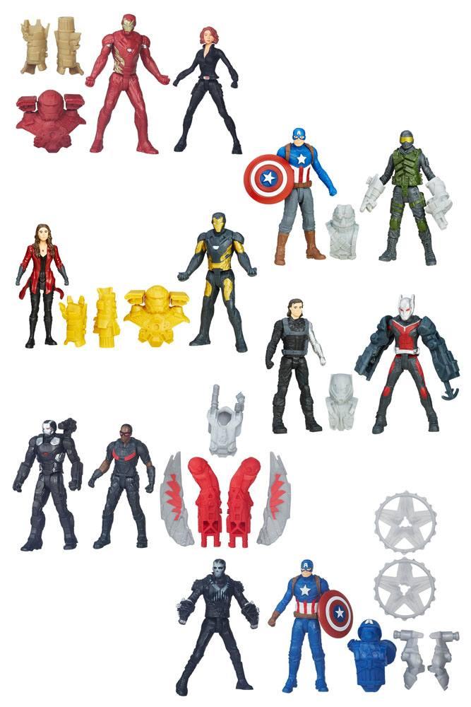 Avengers Miniverse Action Figures 6 cm 2-Packs 2016 Wave 2 Assortment (8)