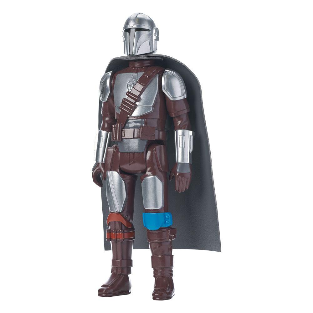 Star Wars The Mandalorian Jumbo Vintage Kenner Figure The Mandalorian (Beskar Armor) 30 cm