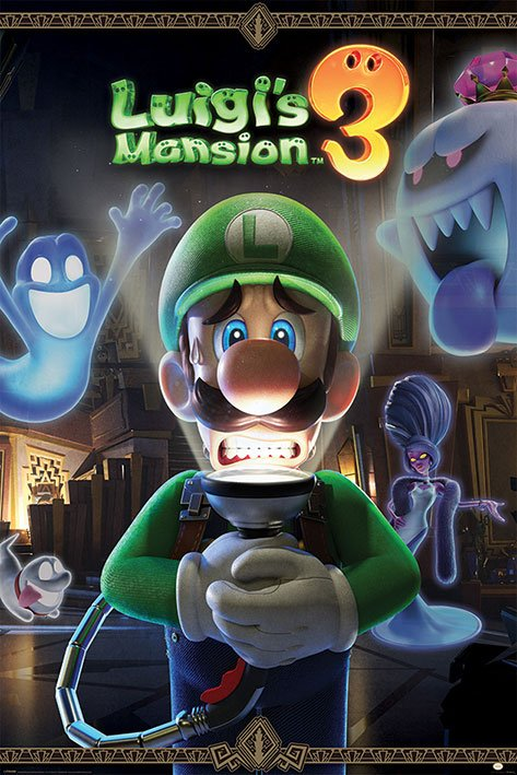 Luigi's Mansion 3 Poster Pack You're in for a Fright 61 x 91 cm (5)