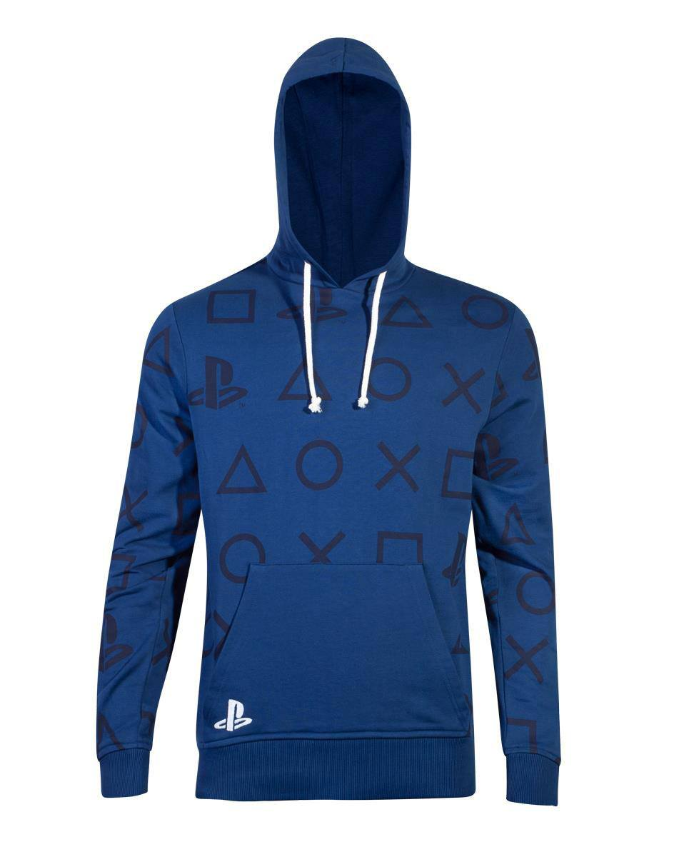 Sony PlayStation Hooded Sweater AOP Icons Size L