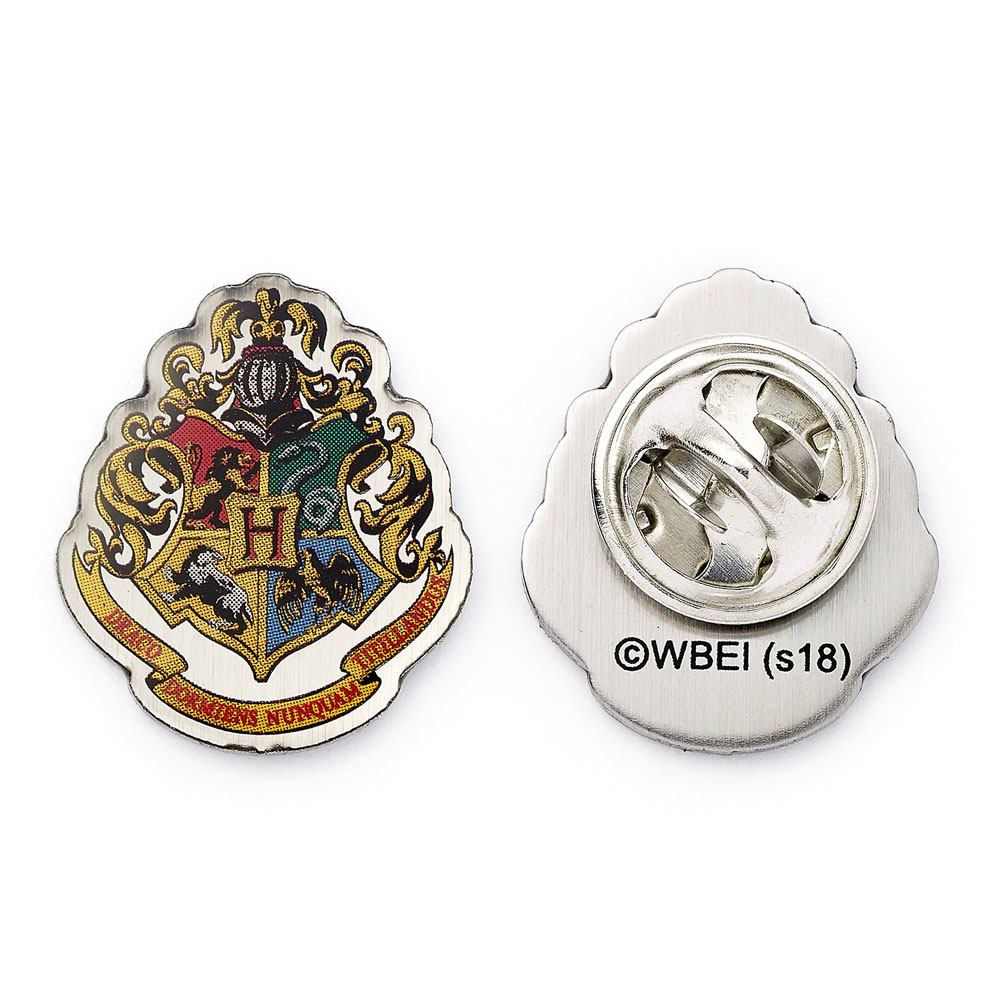 Harry Potter Pin Badge Hogwarts Crest