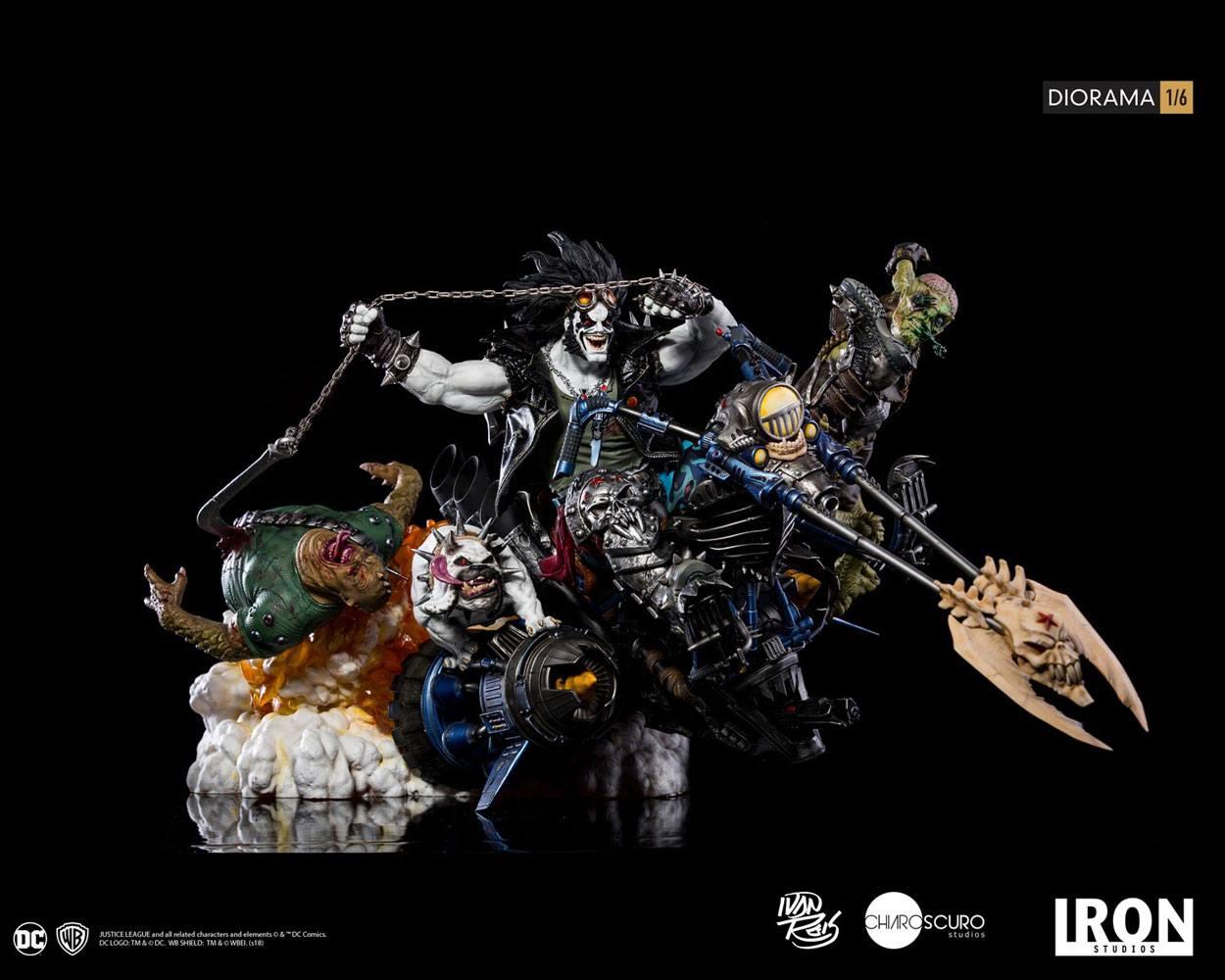 DC Comics Diorama 1/6 Lobo by Ivan Reis 38 cm