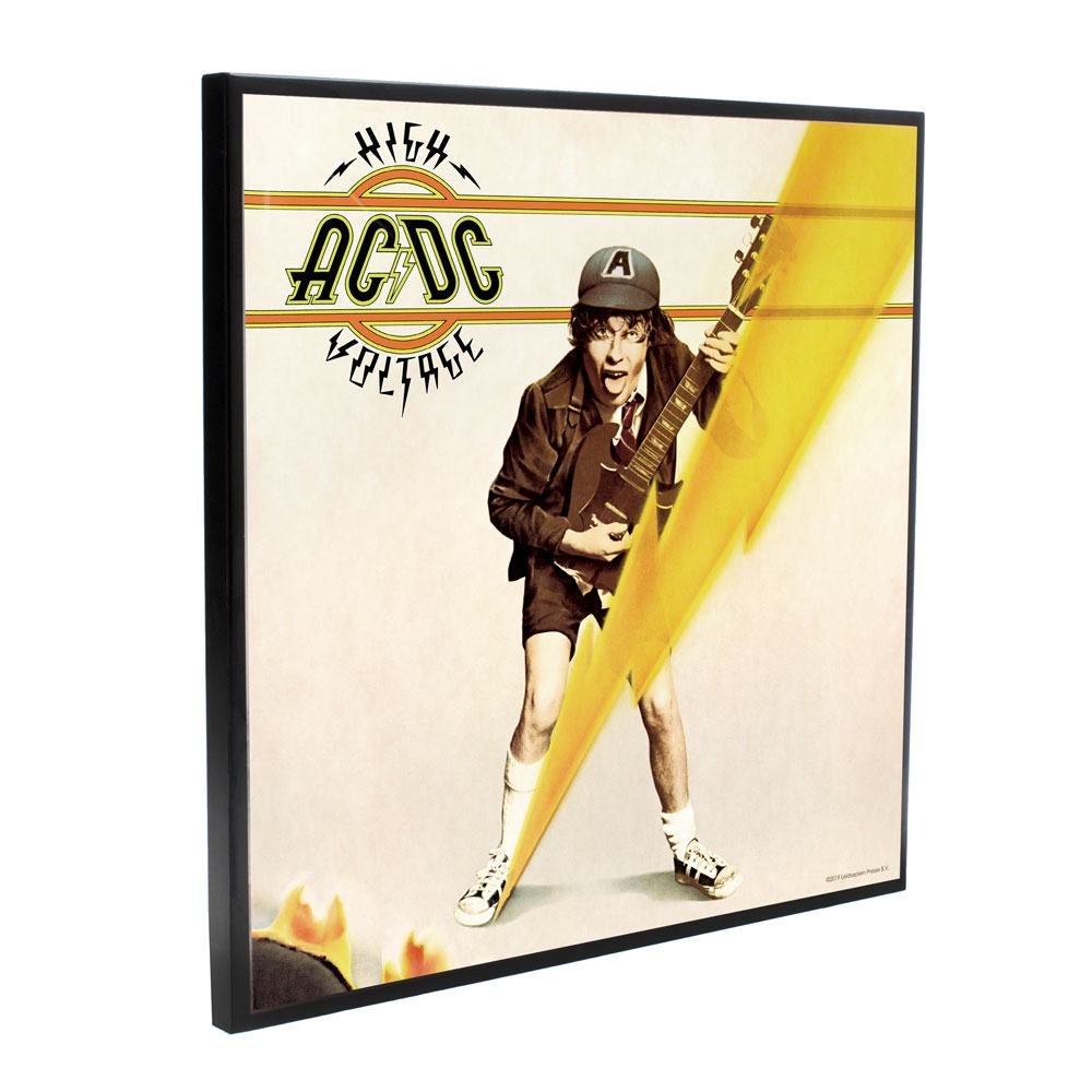 AC/DC Crystal Clear Picture High Voltage 32 x 32 cm