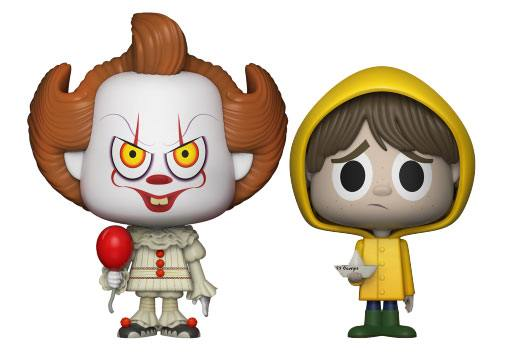 It VYNL Vinyl Figures 2-Pack Pennywise & Georgie 10 cm