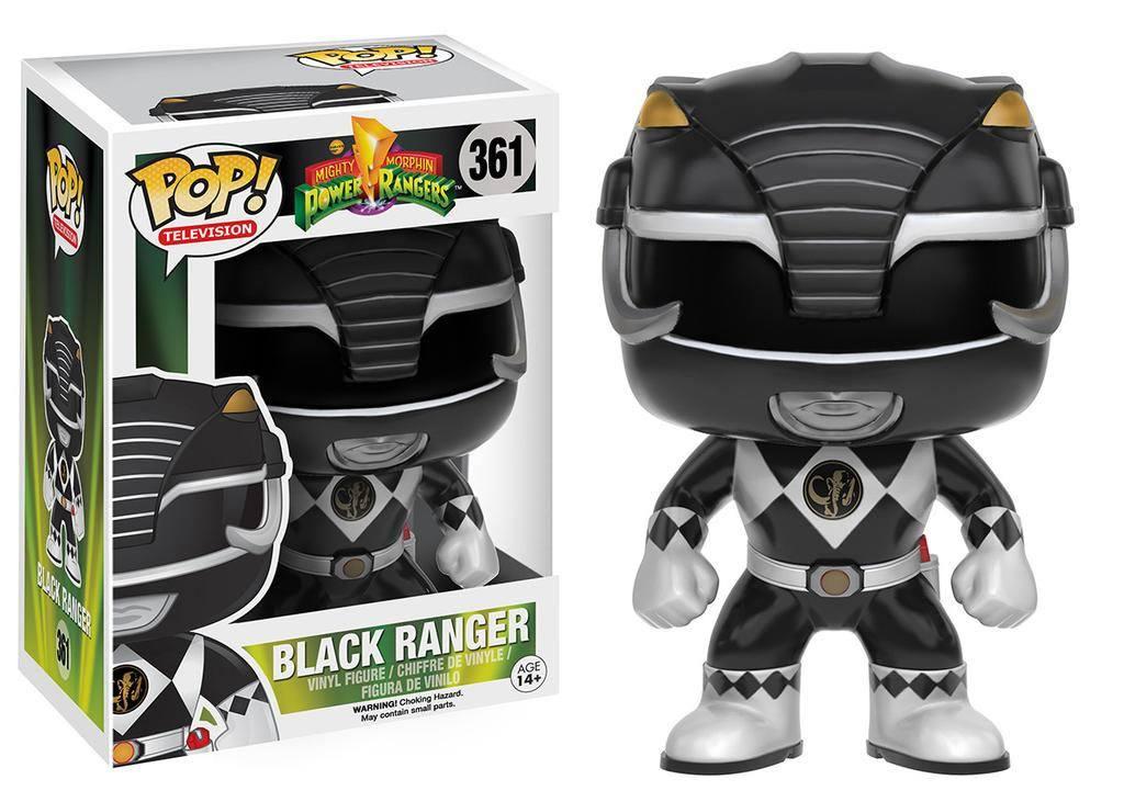 Power Rangers POP! Television Vinyl Figure Black Ranger 9 cm