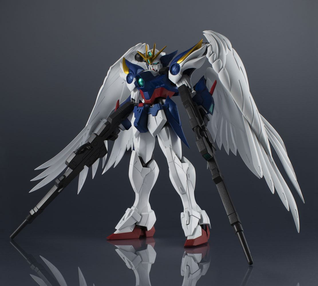 Mobile Suit Gundam Wing Gundam Universe Action Figure XXXG-00W0 Wing Gundam Zero 15 cm