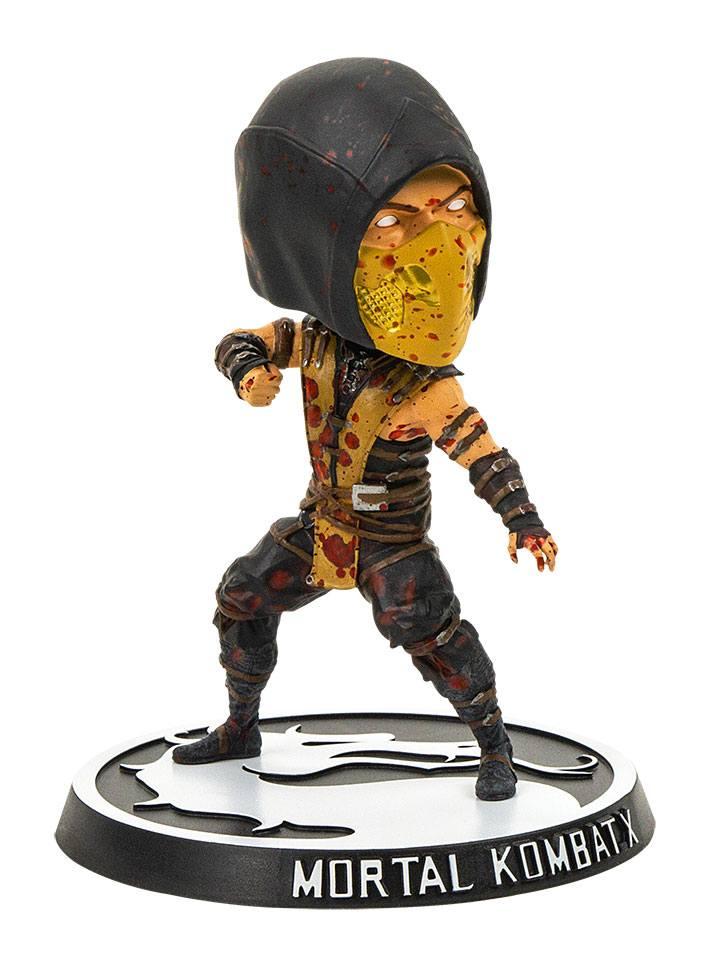 Mortal Kombat X Bobble-Head Scorpion Bloody Version 15 cm