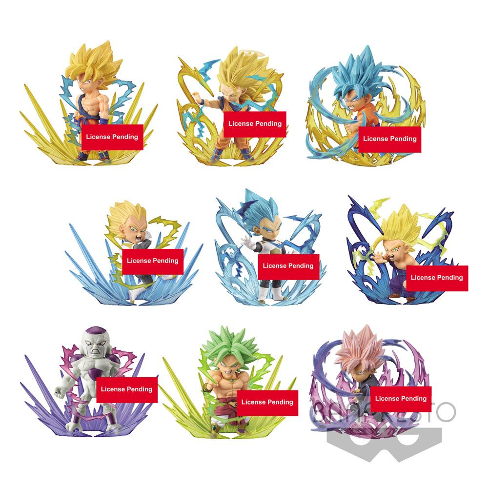 Dragonball Super WCF ChiBi Figures 7 cm Assortment Burst (28)