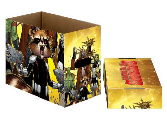 Marvel Comics Storage Boxes Guardians of the Galaxy Team 23 x 29 x 39 cm Case (5)