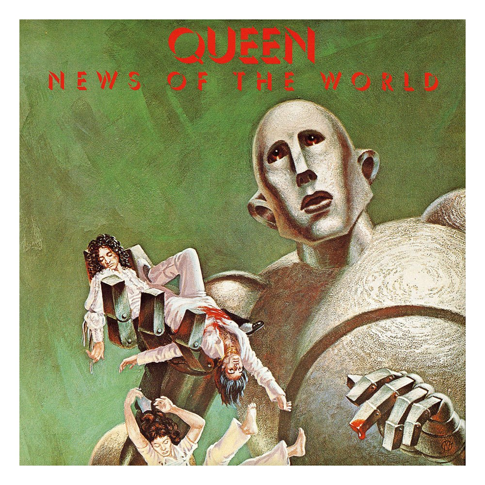 Queen Rock Saws Jigsaw Puzzle News Of The World (1000 pieces)
