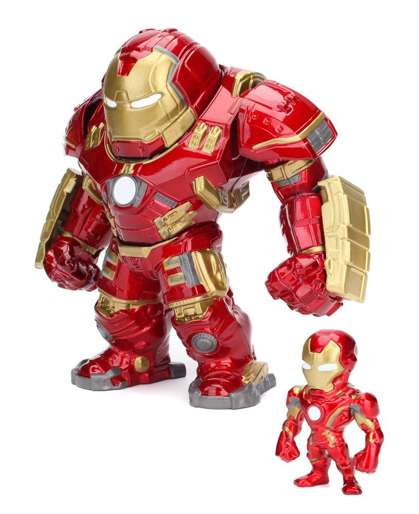 Avengers Age of Ultron Metals Die Cast Figures Hulkbuster & Iron Man 15 cm