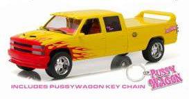 Kill Bill Diecast Modell 1/18 1997 Chevrolet C-2500 Pussy Wagon