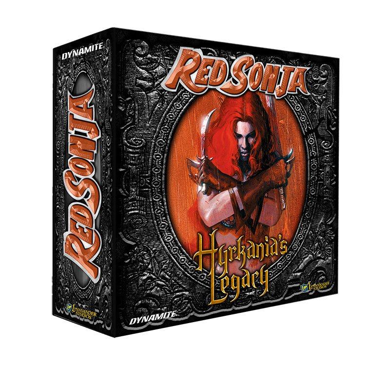 Red Sonja Board Game Hyrkania's Legacy *English Version*