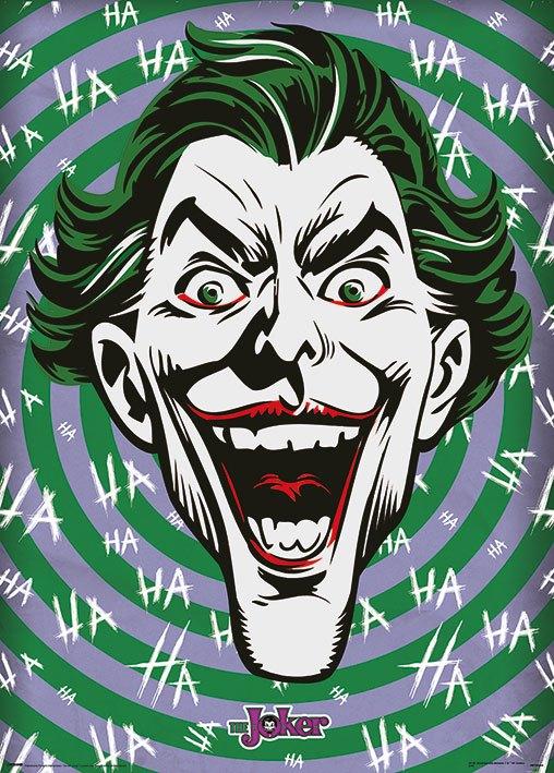 DC Comics Metallic Poster Pack Joker HaHaHa 50 x 70 cm (5)