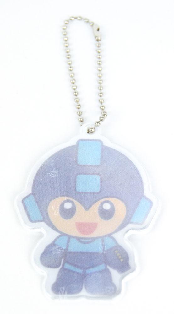 Mega Man Reflector Keychain Mega Man