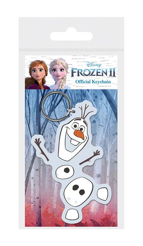 Frozen 2 Rubber Keychain Olaf 6 cm
