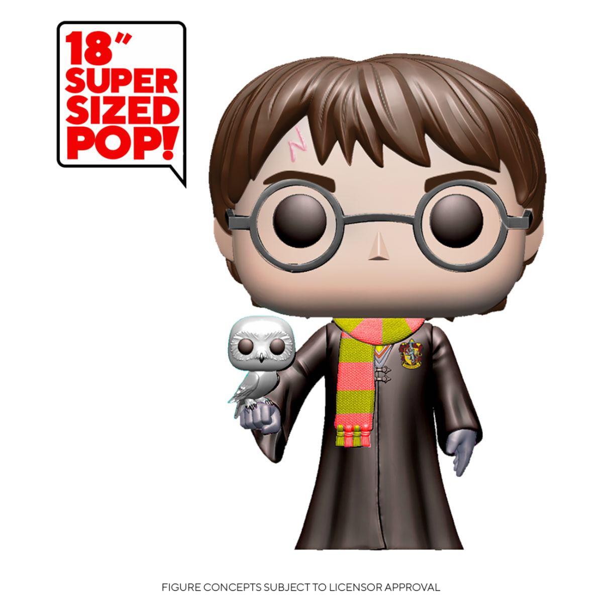 Harry Potter Super Sized POP! Movies Vinyl Figure Harry Potter 48 cm
