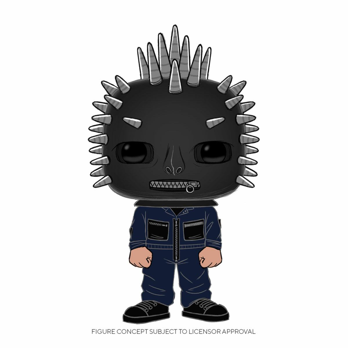 Slipknot POP! Rocks Vinyl Figure Craig Jones 9 cm