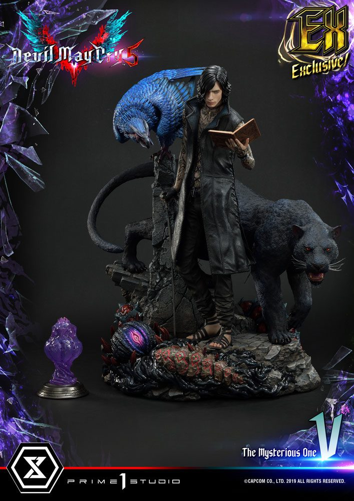 Devil May Cry 5 Statues 1/4 V & V Exclusive 58 cm Assortment (3)