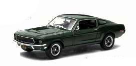 Bullitt Diecast Model 1/24 1968 Ford Mustang GT