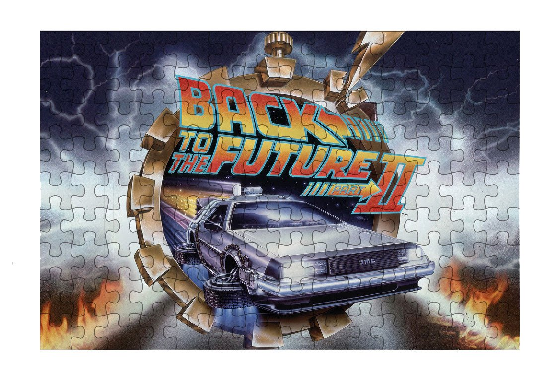 Back to the Future II Puzzle BTTF