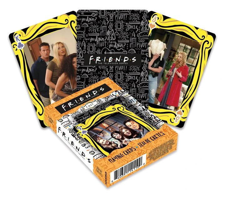 Friends Playing Cards Cast