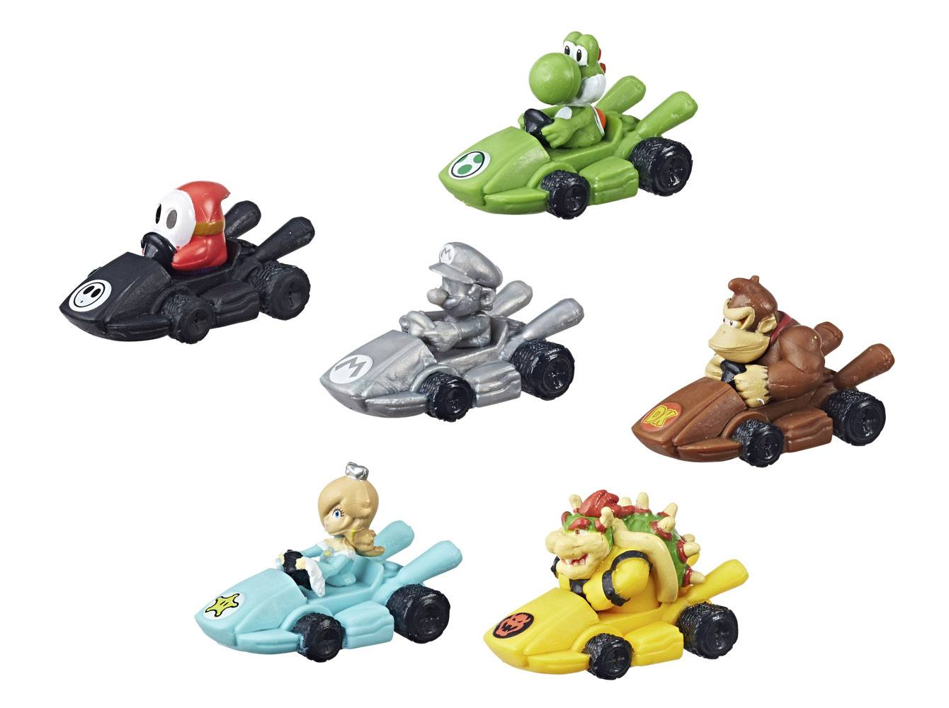 Nintendo Board Game Monopoly Gamer Mario Kart Edition Figure Pack Display (24) *German Version*