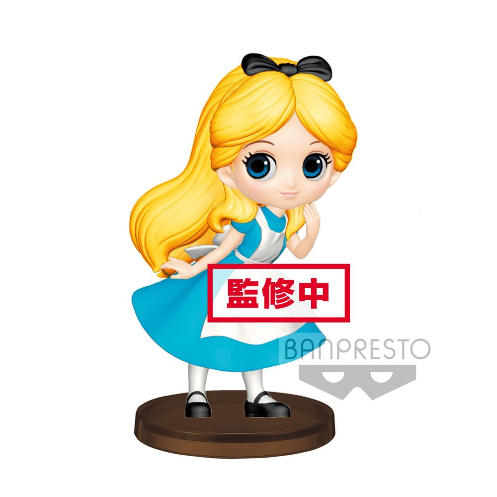 Disney Q Posket Petit Mini Figure Alice 7 cm
