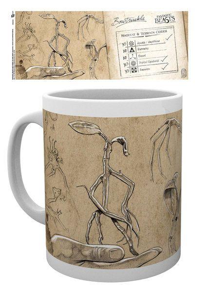 Fantastic Beasts Mug Bowtruckles