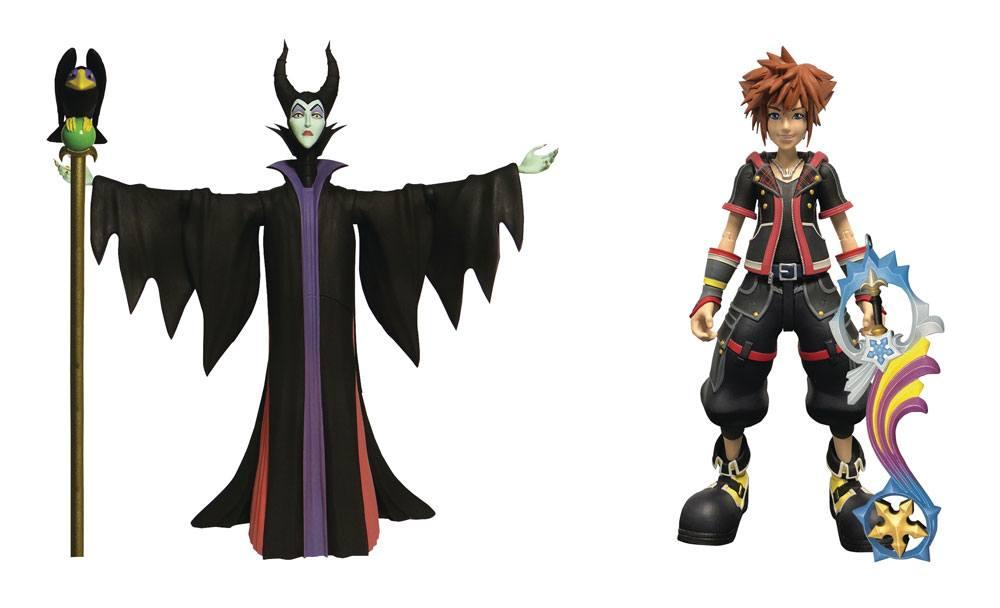 Kingdom Hearts 3 Select Action Figures 2-Pack Maleficent & Sora 18 cm