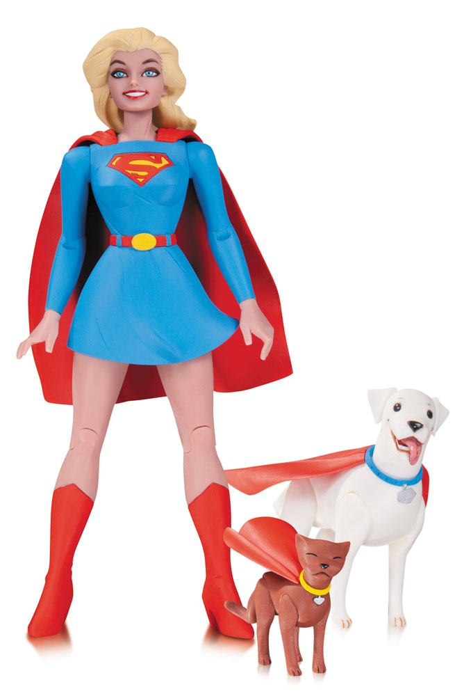 DC Comics Designer Action Figure Supergirl by Darwyn Cooke 17 cm --- DAMAGED PACKAGING
