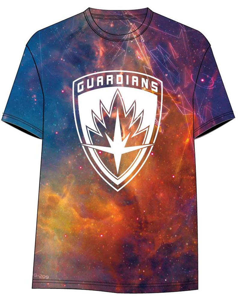 Guardians of the Galaxy Vol. 2 Sublimation T-Shirt All Over Logo Size XL