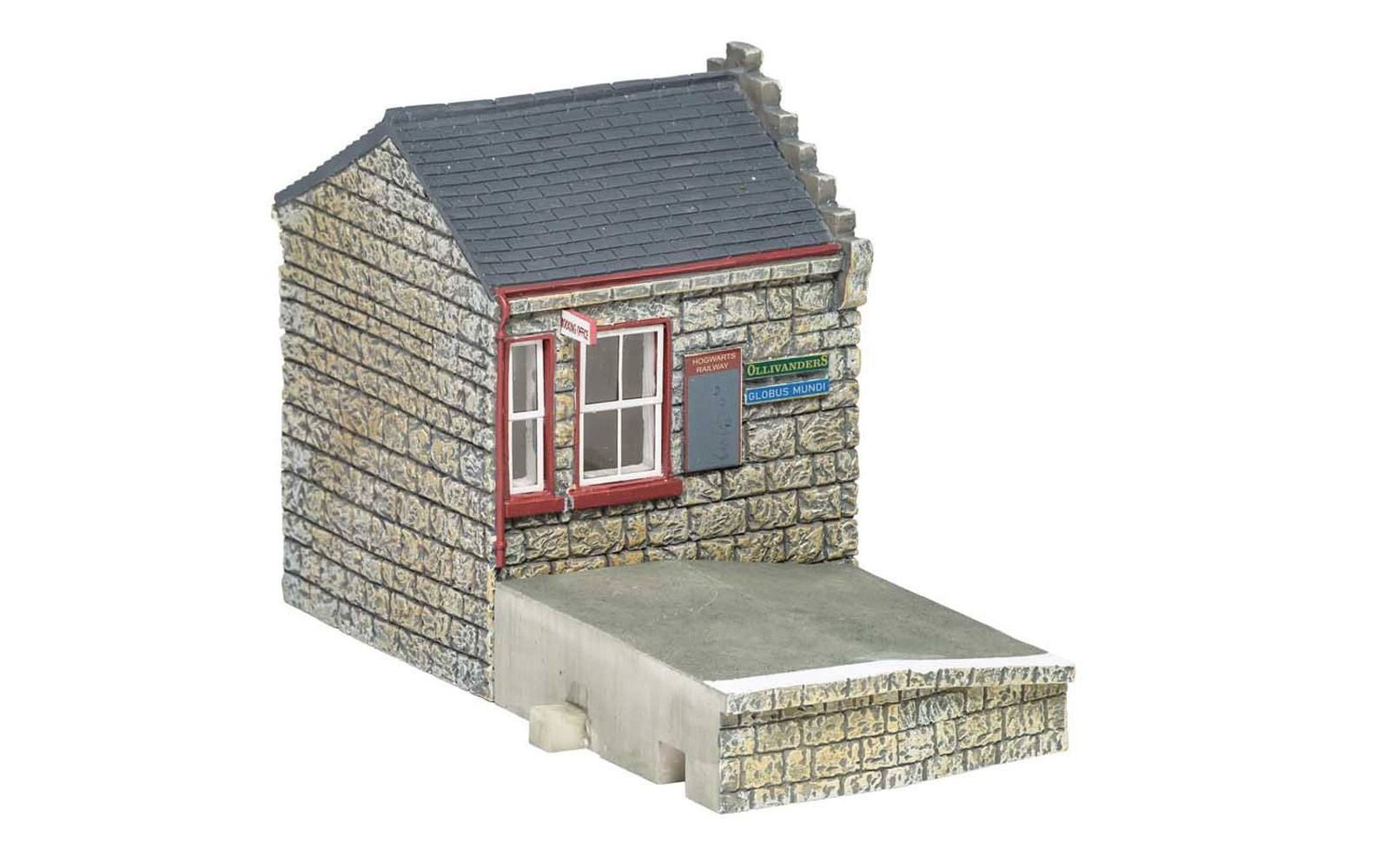 Harry Potter Model Railway Building 1/76 Hogsmeade Station - Booking Hall