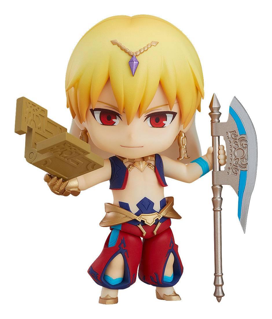Fate/Grand Order Nendoroid Action Figure Caster/Gilgamesh 10 cm