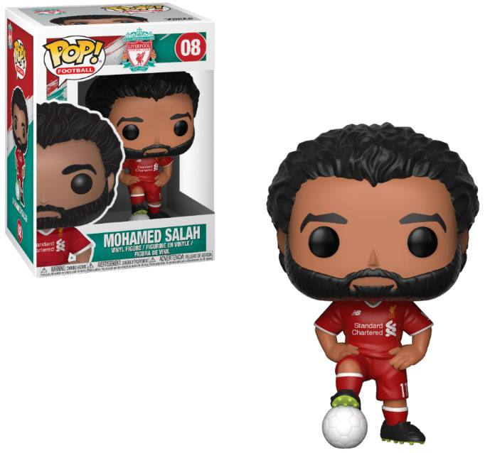 EPL POP! Football Vinyl Figure Mohamed Salah (Liverpool) 9 cm