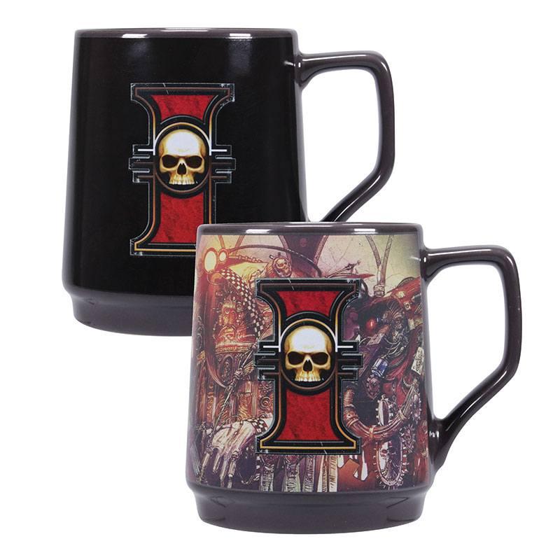 Warhammer 40k Heat Change Mug Inquisition