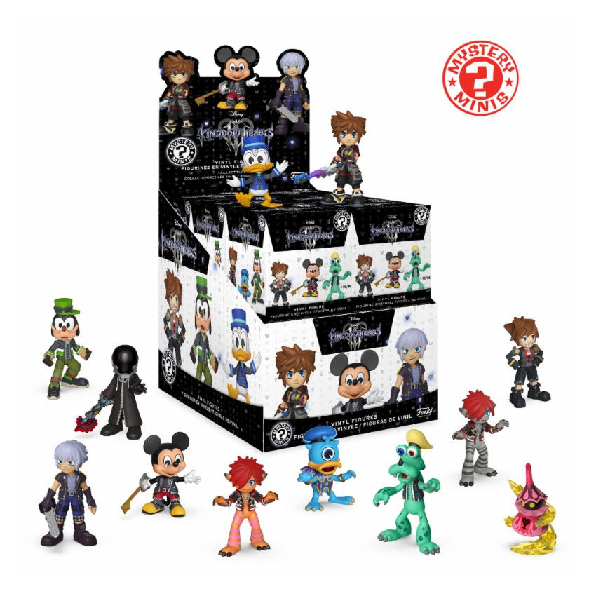 Kingdom Hearts 3 Mystery Minis Vinyl Mini Figures 6 cm Display (12)