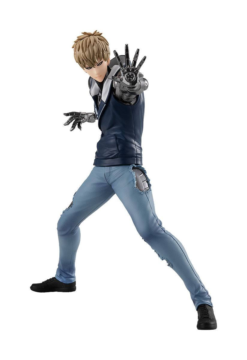 One Punch Man Pop Up Parade PVC Statue Genos 17 cm