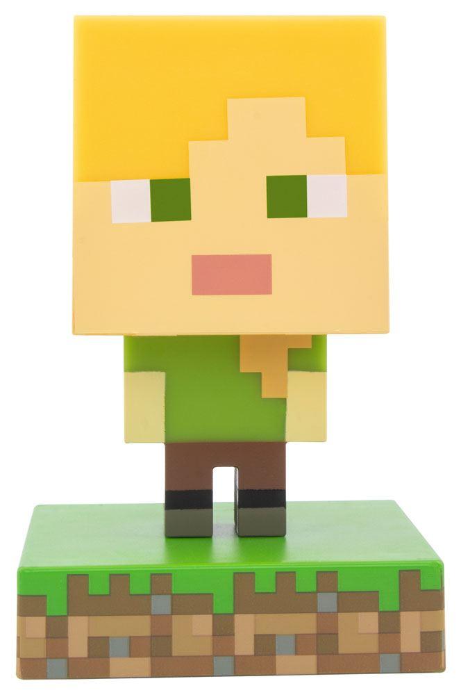 Minecraft 3D Icon Light Alex