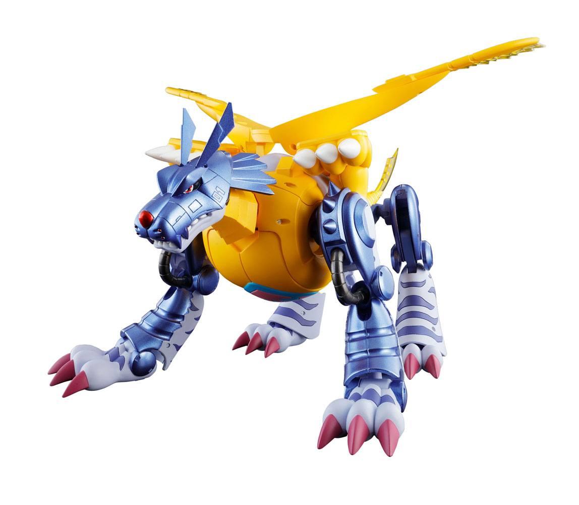 Digimon Adventure Digivolving Spirits Action Figure 02 Metal Garurumon (Gabumon) 20 cm