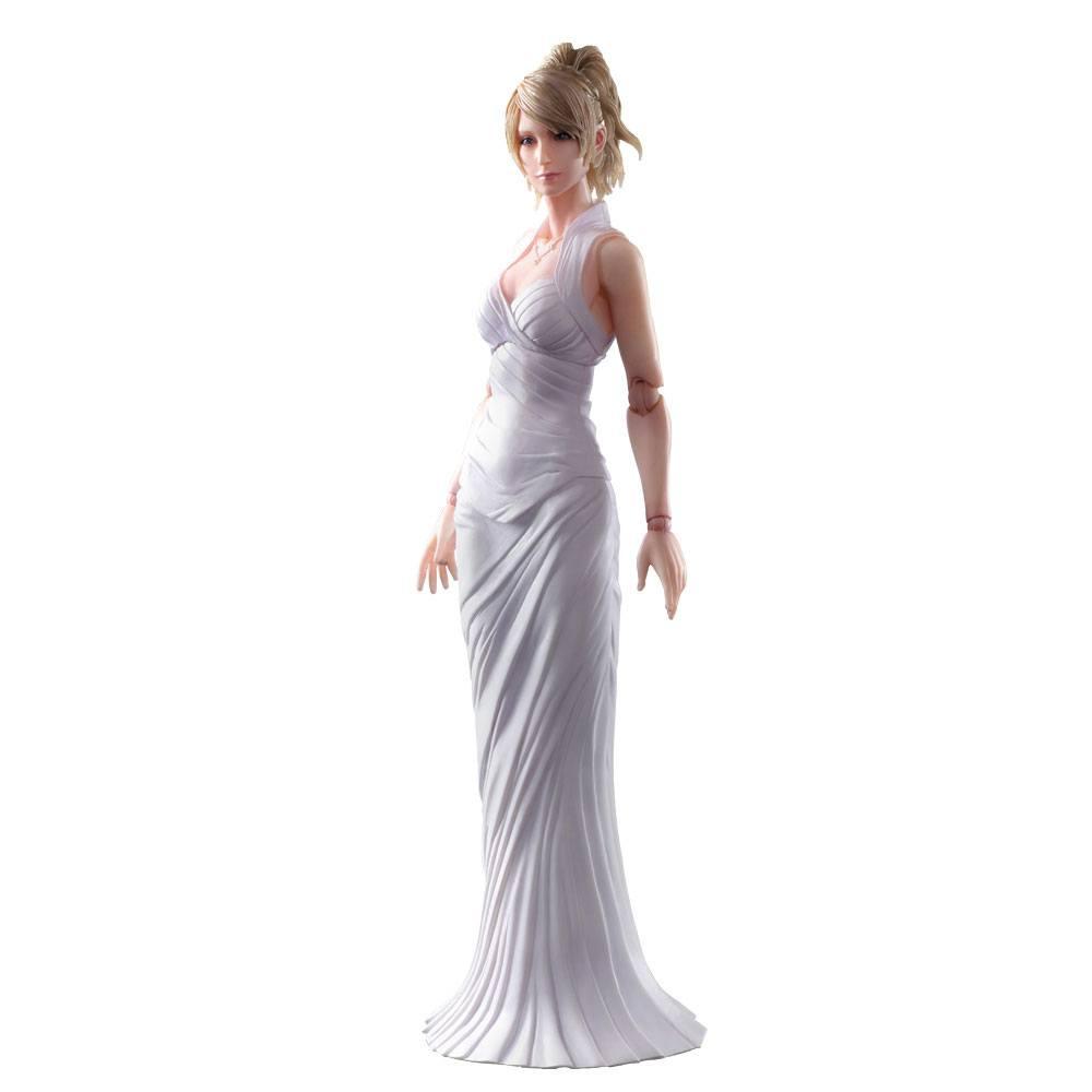 Final Fantasy XV Play Arts Kai Action Figure Lunafreya Nox Fleuret 26 cm