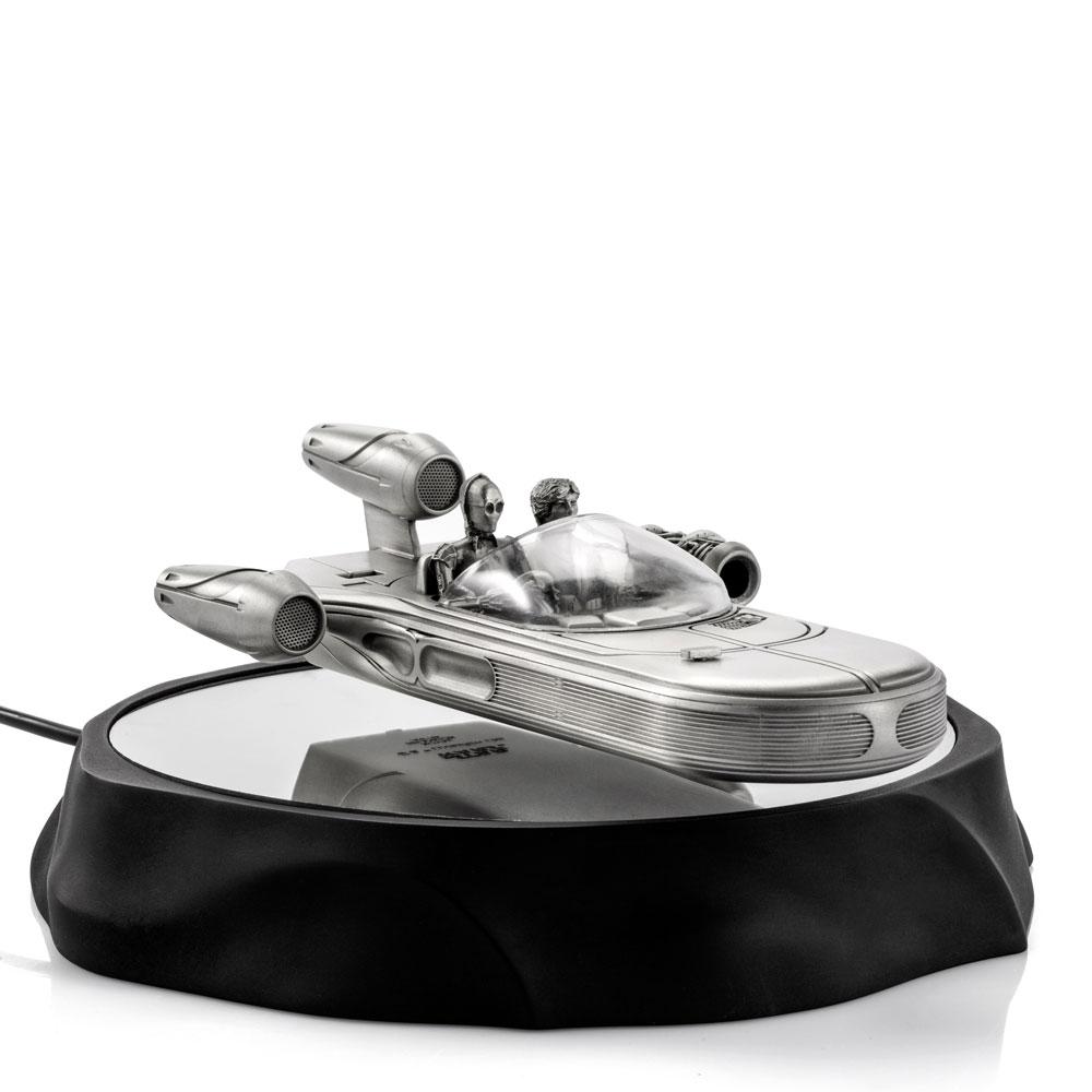 Star Wars Pewter Collectible Floating Model Landspeeder 19 cm
