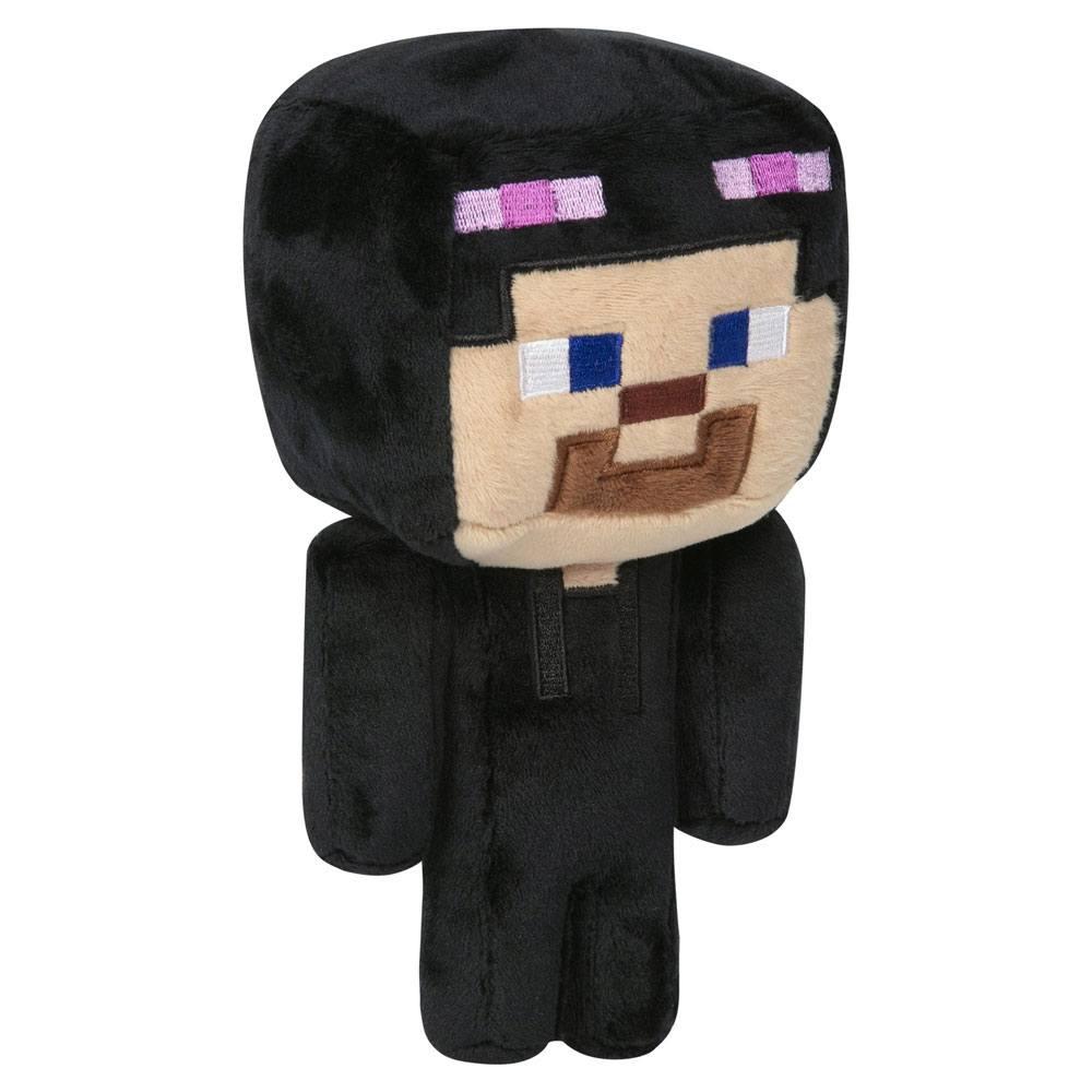 Minecraft Happy Explorer Plush Figure Enderman Steve 18 cm