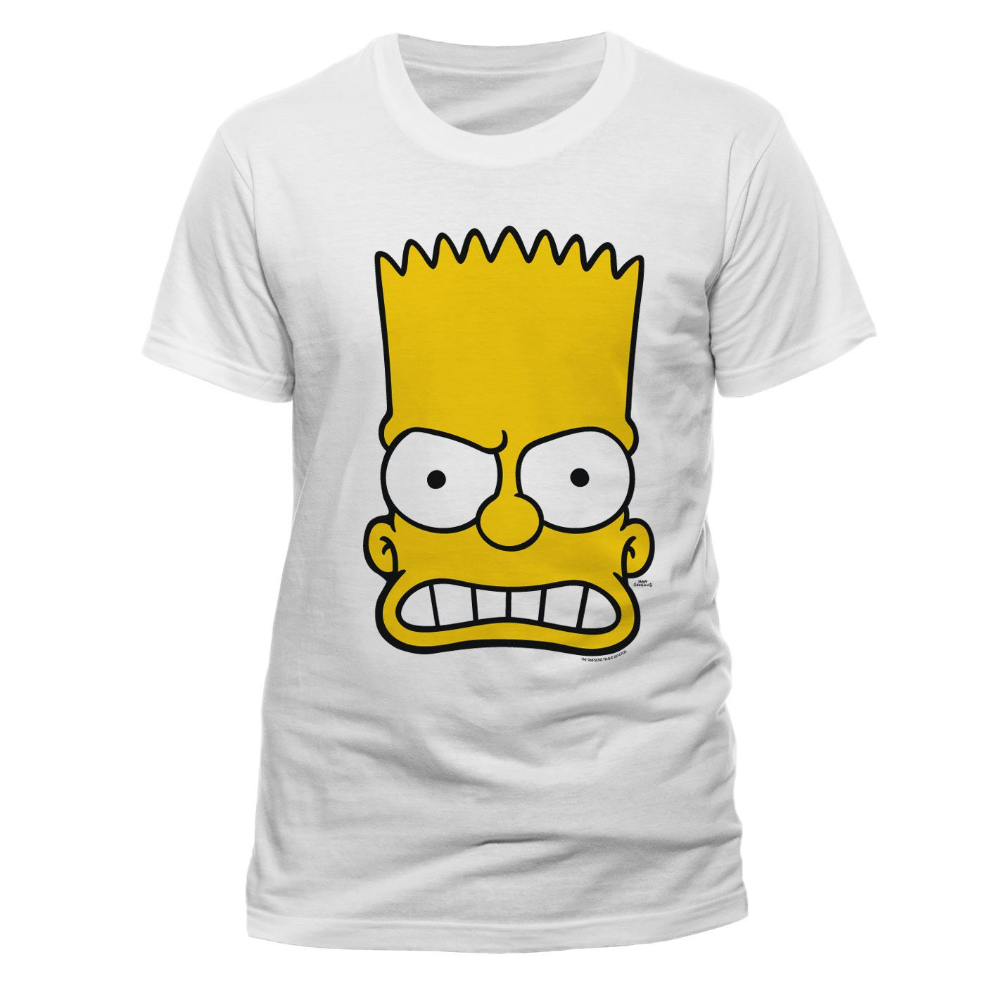 Simpsons T-Shirt Bart Face Size S