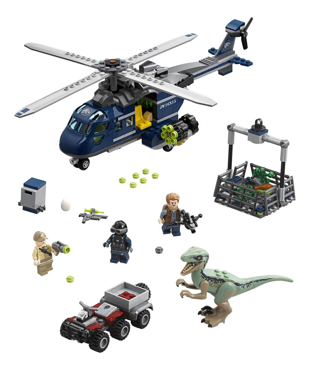 LEGO® Jurassic World™ - Blue's Helicopter Pursuit