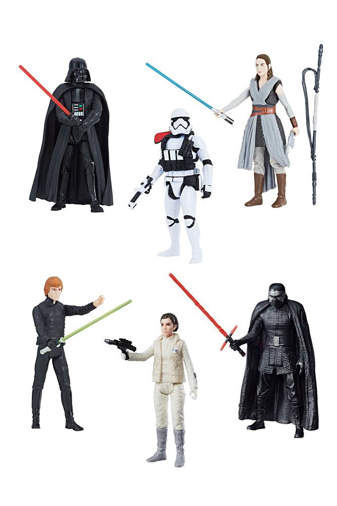 Star Wars Force Link 2.0 Action Figures 10 cm 2018 Wave 3 Assortment (12) --- DAMAGED PACKAGING