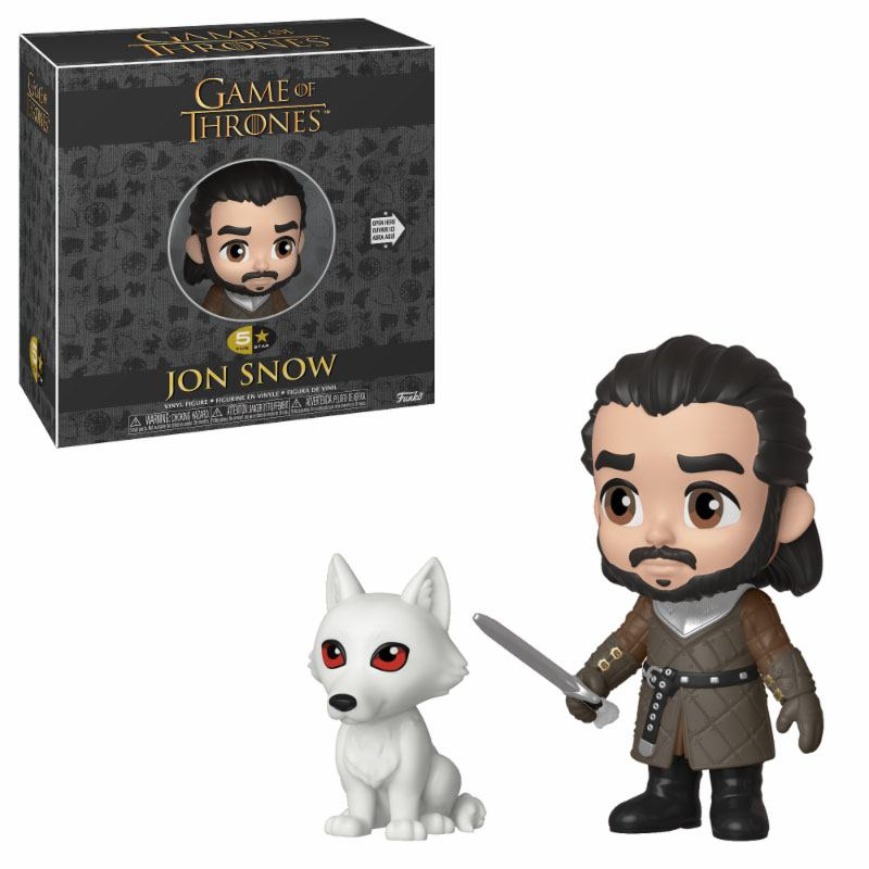 Game of Thrones 5-Star Action Figure Jon Snow 8 cm