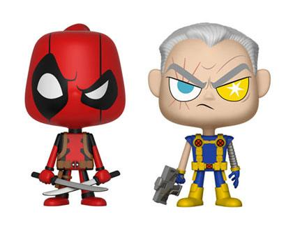 Deadpool VYNL Vinyl Figures 2-Pack Deadpool & Cable 10 cm