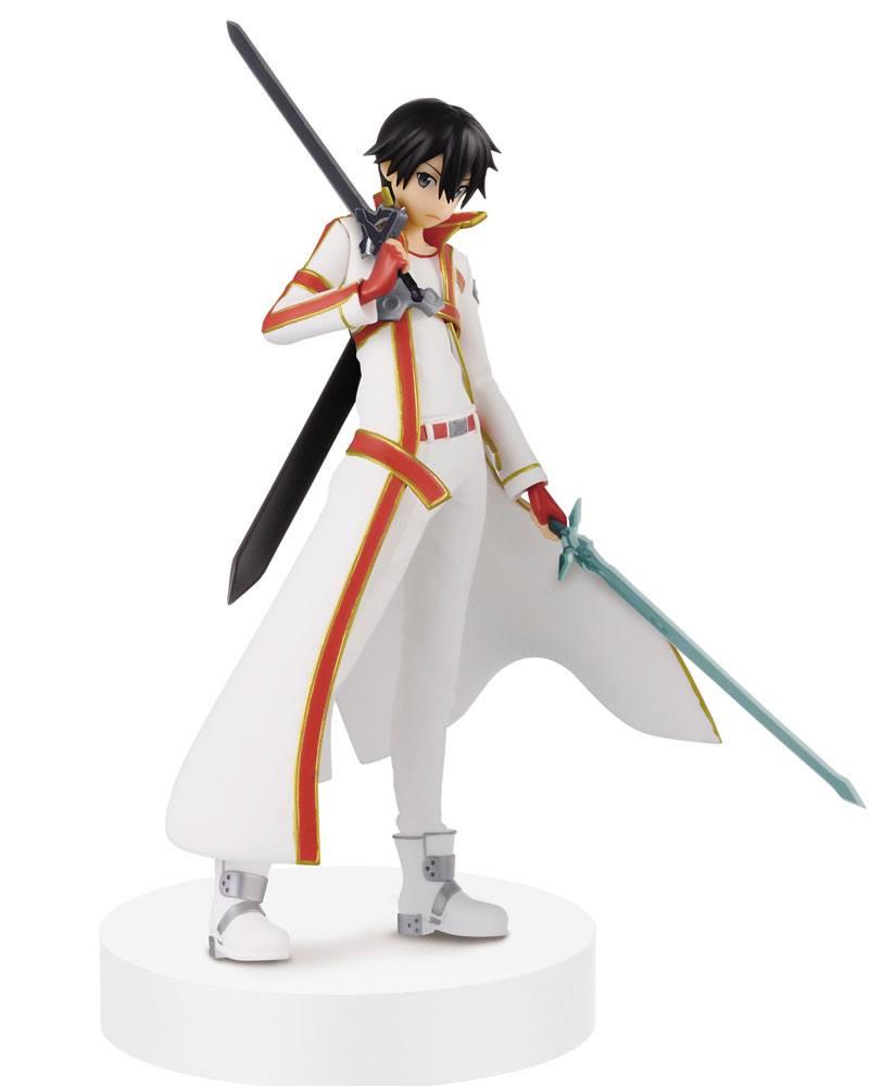Sword Art Online Ordinal Scale Figure Kirito White Asuna Color Ver. 17 cm