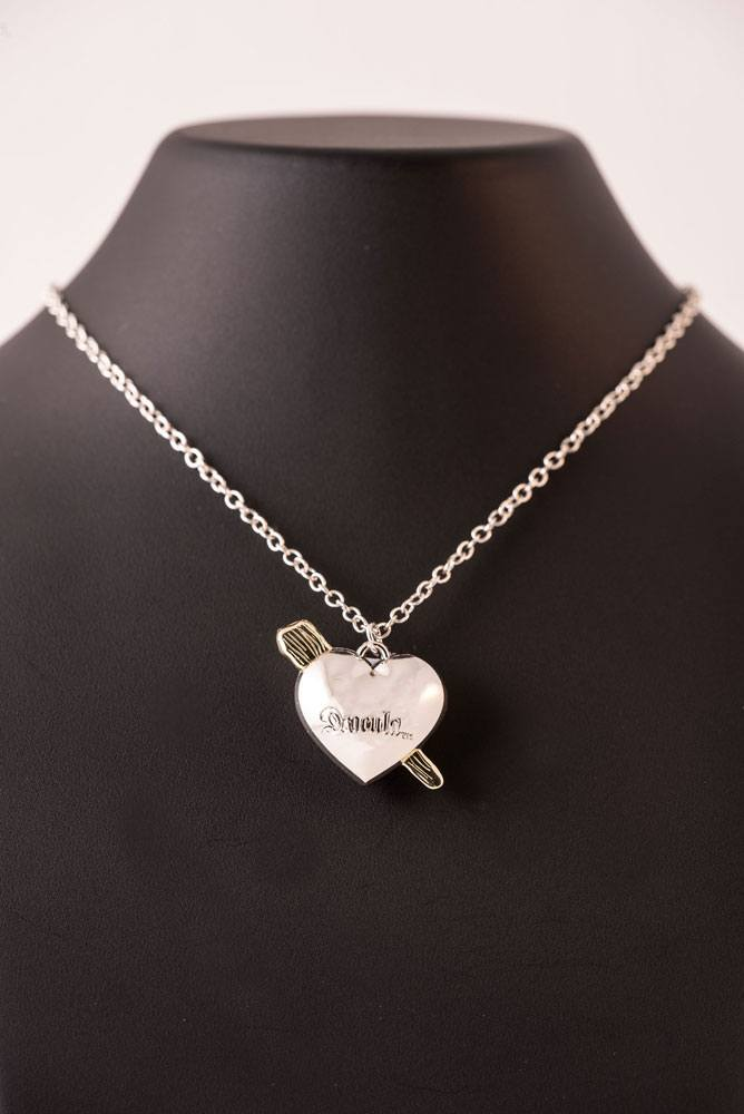 Universal Monsters Necklace Dracula Heart